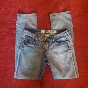 Hydraulic Jeans - Hydraulic Women's Size 13/14 Slim Boot Jeans